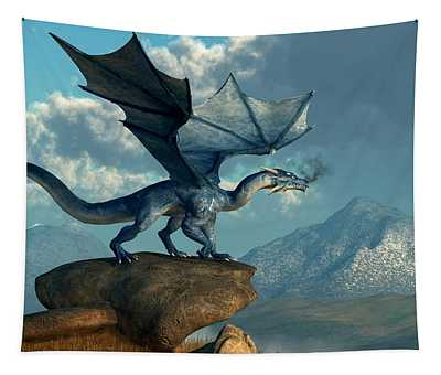 Blue Dragon Tapestry