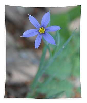 Blue Flower Tapestry