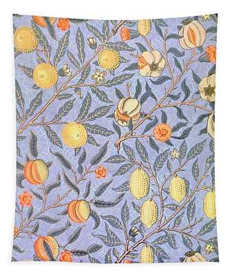 Blue Fruit Tapestry