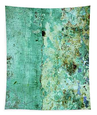 Blue Green Wall Tapestry