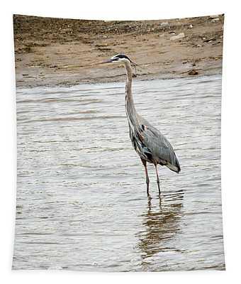 Blue Heron Tapestry