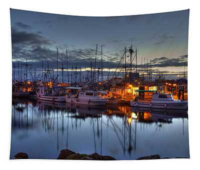 Blue Hour Tapestry