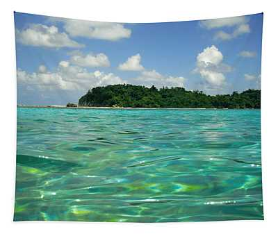 Blue Lagoon Tapestry