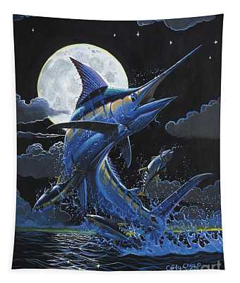 Blue Moon Off0069 Tapestry