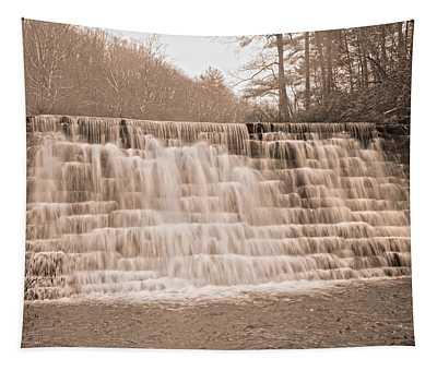 Blue Ridge Parkway Rainy Day Tapestry