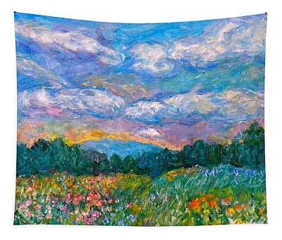 Blue Ridge Wildflowers Tapestry