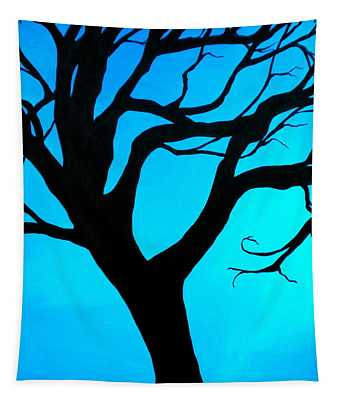 Blue Winter Tapestry