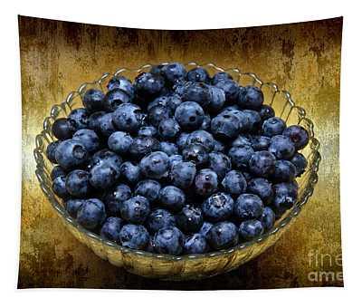 Blueberry Elegance Tapestry