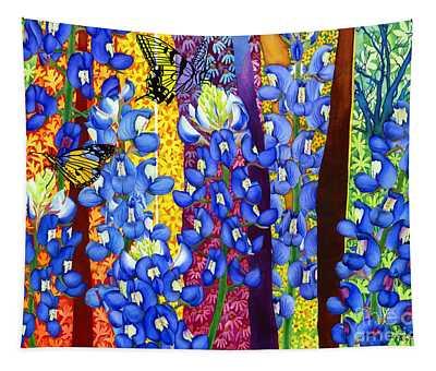 Bluebonnet Garden Tapestry