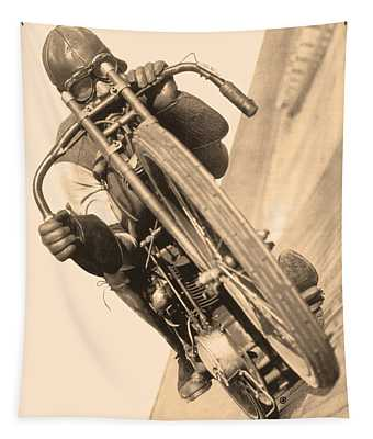 Board Track Racer Tapestry