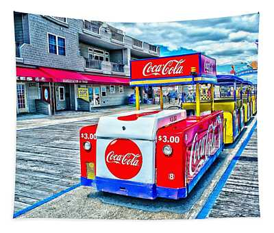 Boardwalk Tram  Tapestry
