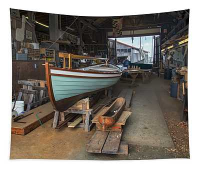 Boat Shop Tapestry