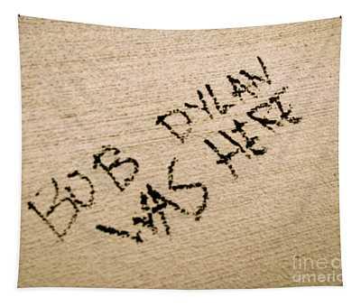 Bob Dylan Graffiti Tapestry
