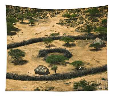 Tapestry featuring the photograph Boma On The Range by Gary Keesler