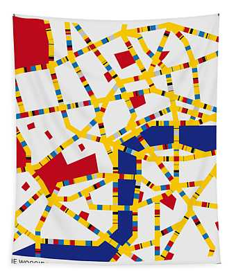 Boogie Woogie London Tapestry