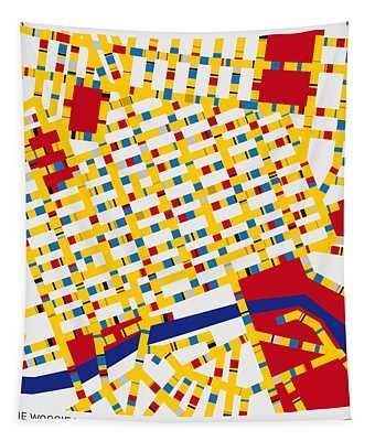 Boogie Woogie Melbourne Tapestry