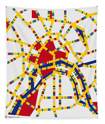 Boogie Woogie Moscow Tapestry