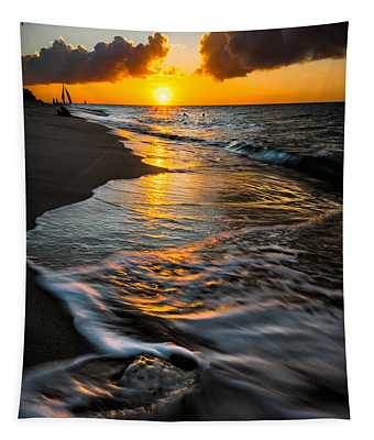 Boracay Sunset Tapestry