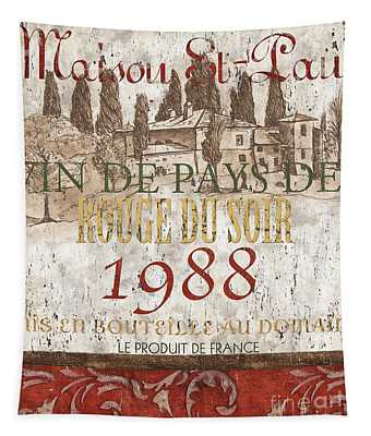 Bordeaux Blanc Label 1 Tapestry