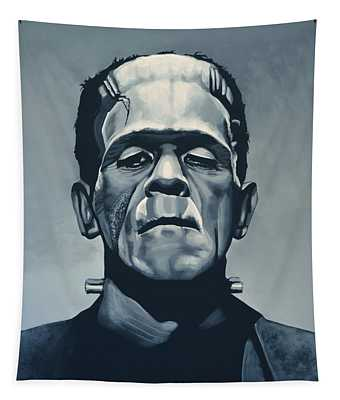 Boris Karloff As Frankenstein  Tapestry