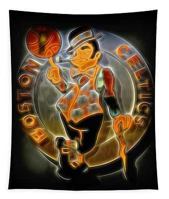 Boston Celtics Logo Tapestry