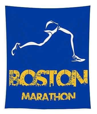 Boston Marathon2 Tapestry