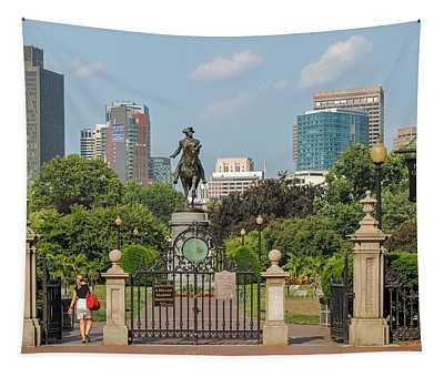 Boston Public Garden Tapestry
