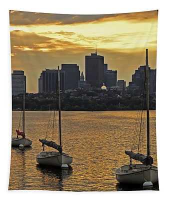Boston Sunrise Tapestry