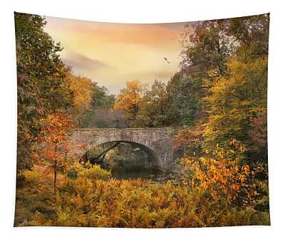 Botanical Bridge Tapestry