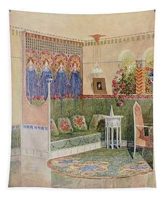 Boudoir, From A Villa In Helsinki Tapestry