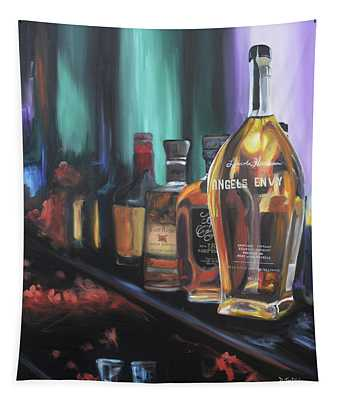 Bourbon Bar Oil Painting Tapestry