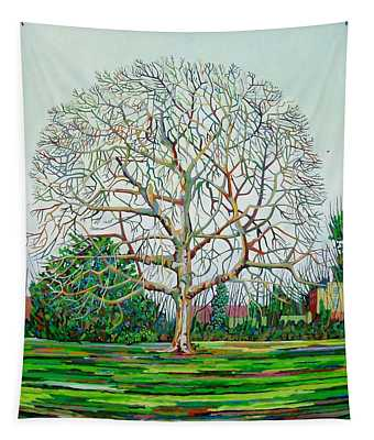 Bow Tree Winter Tapestry
