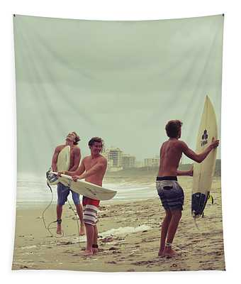 Boys Of Summer Tapestry