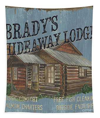 Brady's Hideaway Tapestry