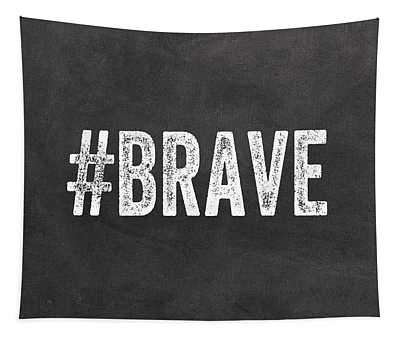 Brave Card- Greeting Card Tapestry