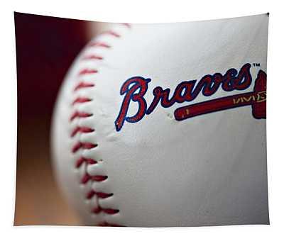 Braves Baseball Tapestry