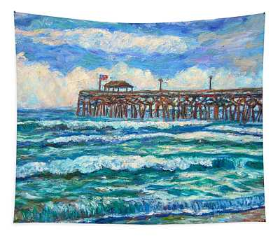 Breakers At Pawleys Island Tapestry