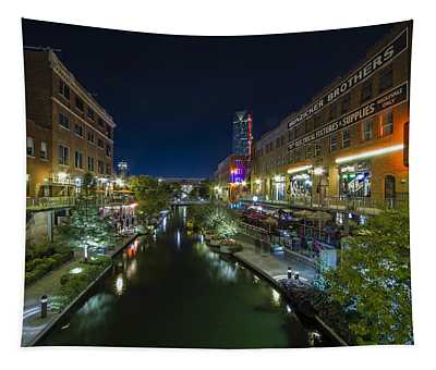 Bricktown Canal Tapestry