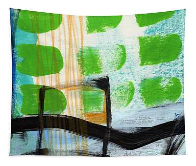 Bridge- Abstract Landscape Tapestry