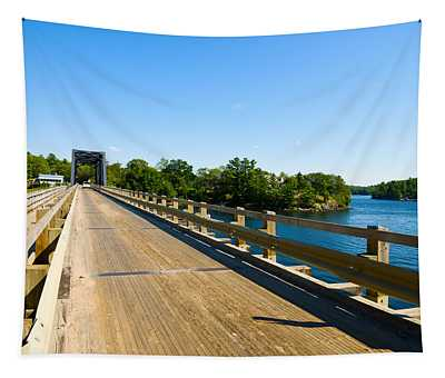 Bridge Over A Lake, Parry Sound Tapestry