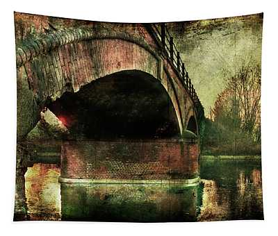 Bridge Over The Canal Tapestry