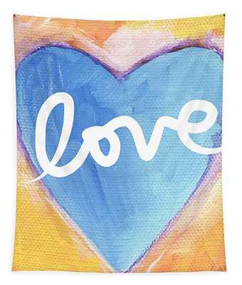 Bright Love Tapestry