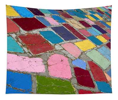 Bright Paving Stones Tapestry