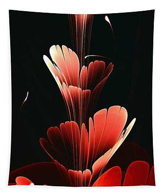 Bright Red Tapestry