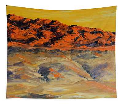 Brilliant Montana Mountains And Foothills Tapestry