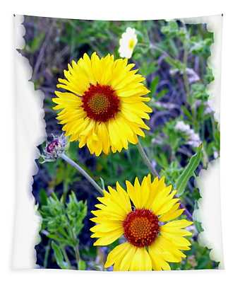 Brown- Eyed Susans Tapestry
