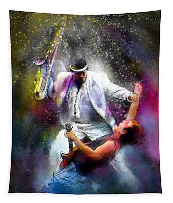 Bruce Springsteen And Clarence Clemons Tapestry