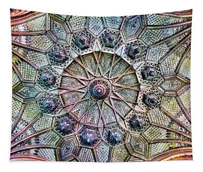 Budapest - Hungary - Paris Court Glass Ceiling Tapestry