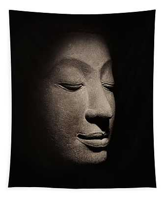 Buddha Head From The Early Ayutthaya Period Tapestry