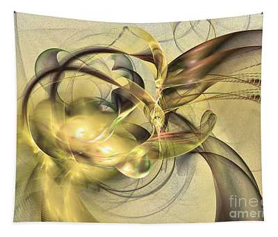 Budding Fruit - Abstract Art Tapestry